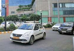 インドには乗用車最大手マルチ・スズキをはじめとする日系メーカーが進出している NNA撮影