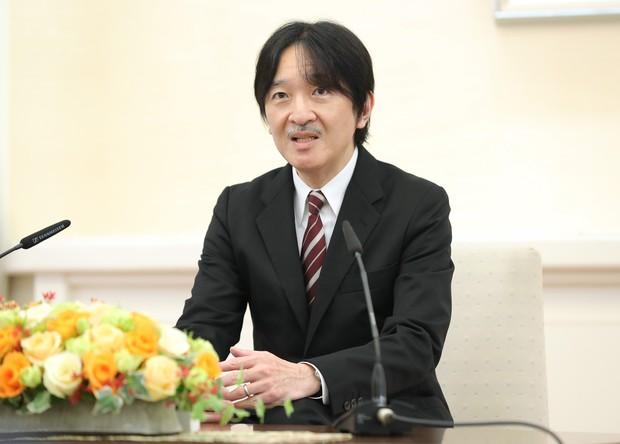 秋篠宮さま(代表撮影)