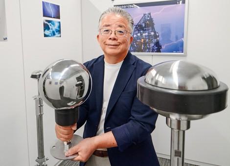 松本敏男 落雷抑制システムズ代表取締役 雷を「落とさない」避雷針