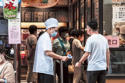10月の大型連休「国慶節」でも、観光客数は前年割れとなった Bloomberg