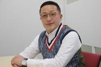 Japanese comedian Smiley Kikuchi is seen in Tokyo on Oct. 20, 2021. (Mainichi/Haruka Utagawa)