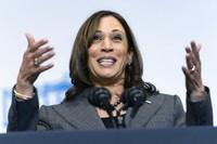 Vice President Kamala Harris speaks at the Northeast Bronx YMCA, in the Bronx borough of New York, on Oct. 22, 2021. (AP Photo/Jacquelyn Martin)