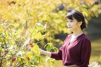 Princess Mako is seen at Akasaka Estate in Tokyo's Minato Ward on Oct. 6, 2021. (Photo courtesy of the Imperial Household Agency)